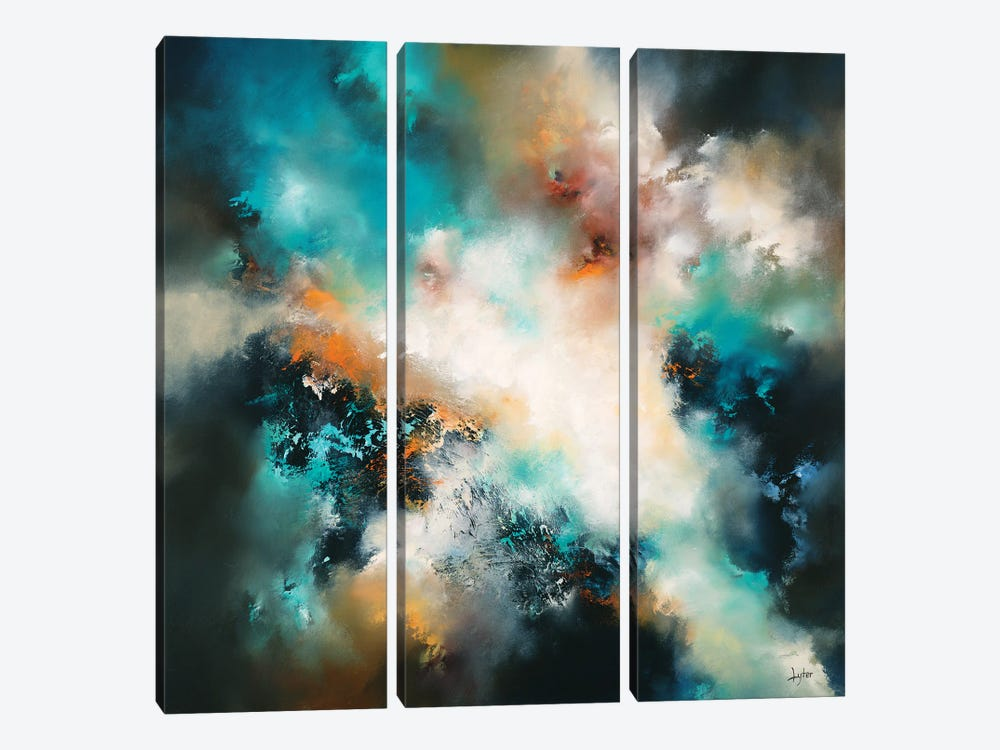 In The Twilight Of Memory by Christopher Lyter 3-piece Canvas Wall Art
