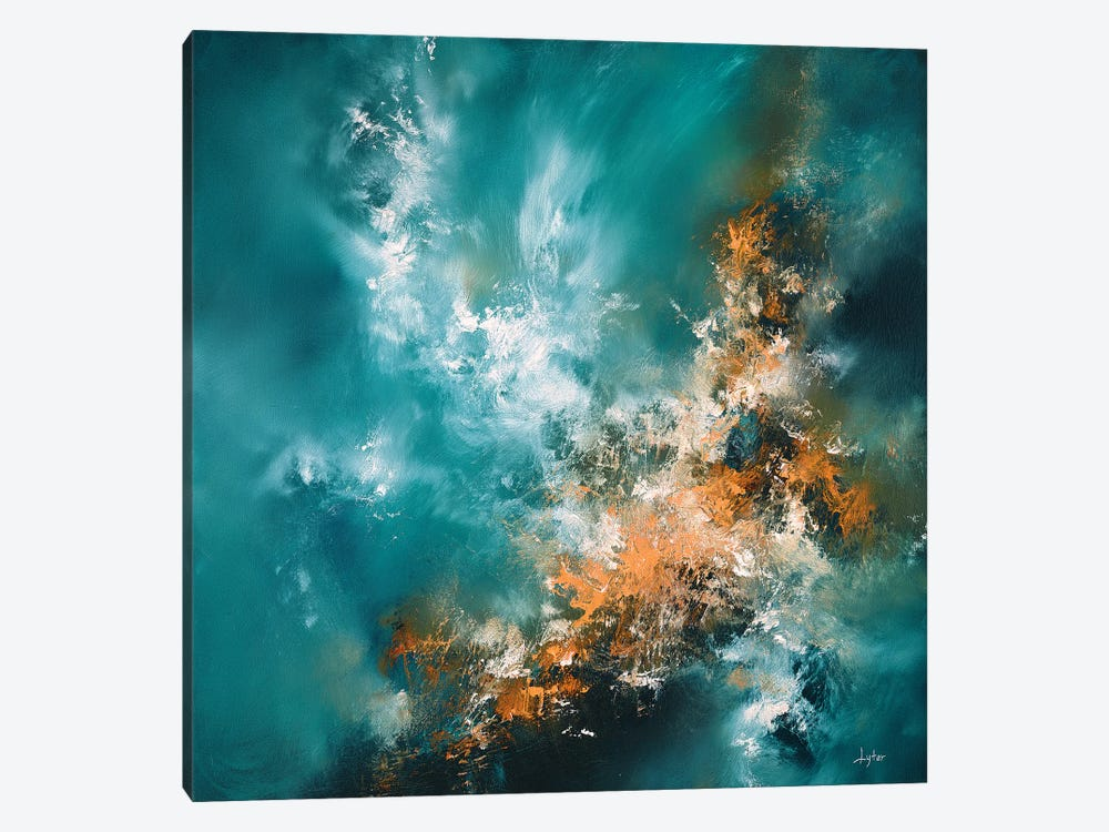 Fire From Above by Christopher Lyter 1-piece Canvas Wall Art
