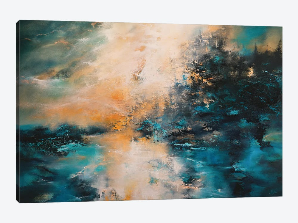 The Mountains, The Forest, And The Sea by Christopher Lyter 1-piece Canvas Wall Art