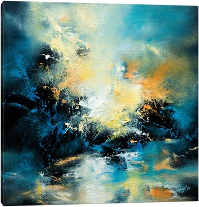 Echoes Canvas Art Print