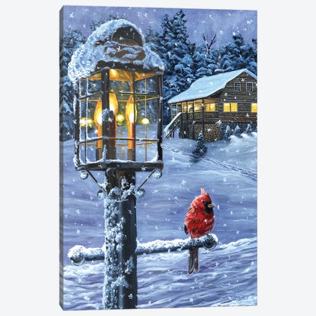 Winter Warmth Canvas Print #CLT87} by Christopher Lyter Canvas Art