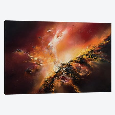 Inferno Of Passions Canvas Print #CLT93} by Christopher Lyter Canvas Wall Art