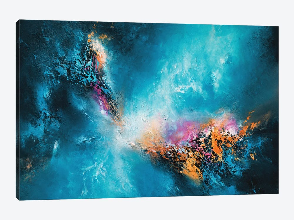 The Deeper The Blue by Christopher Lyter 1-piece Canvas Wall Art