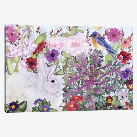 Peaceable Garden Canvas Print #CLU101} by Carissa Luminess Canvas Wall Art