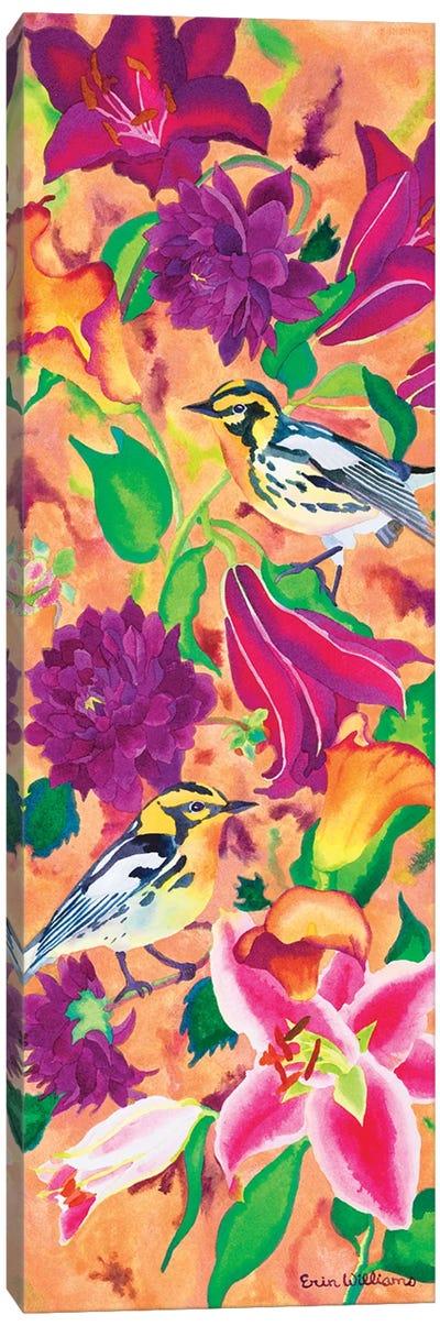 Blackburnian Warblers Canvas Art Print