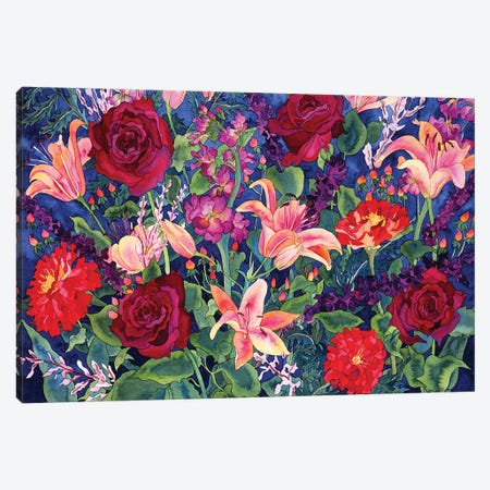 Dance of Love Canvas Print #CLU32} by Carissa Luminess Art Print