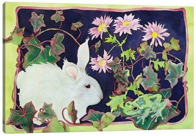 Kiss That Frog Canvas Art Print