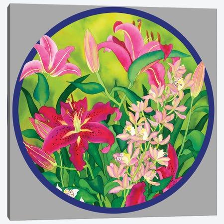 Lilly Love-Circle Canvas Print #CLU84} by Carissa Luminess Art Print