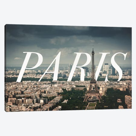 Paris Canvas Print #CLV10} by 5by5collective Canvas Artwork