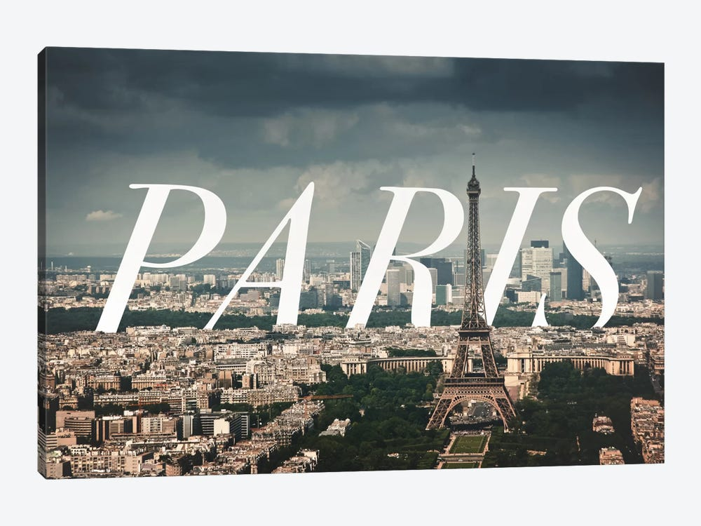 Paris by 5by5collective 1-piece Canvas Wall Art