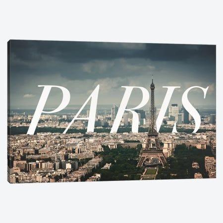 Paris Canvas Print #CLV10} by 5by5collective Canvas Artwork