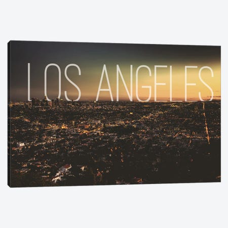 L.A. Canvas Print #CLV14} by 5by5collective Canvas Print