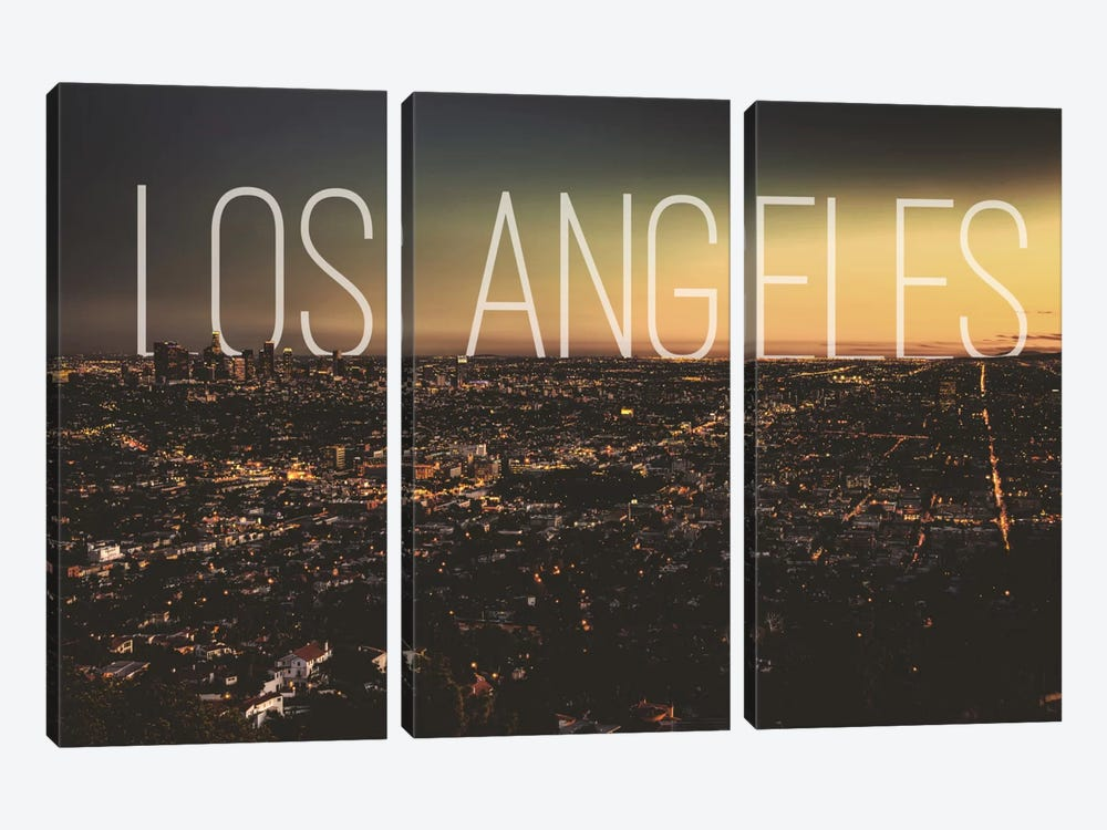 L.A. by 5by5collective 3-piece Canvas Art