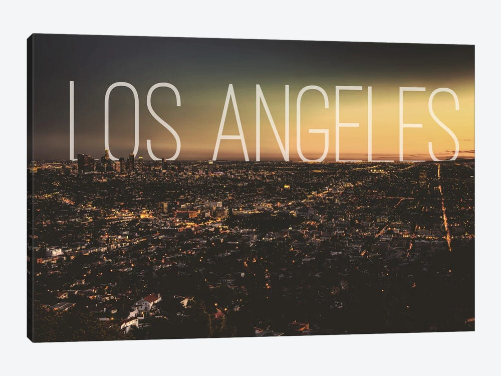 L.A. by 5by5collective 1-piece Canvas Art