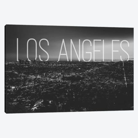 B/W L.A. Canvas Print #CLV16} by 5by5collective Canvas Art Print