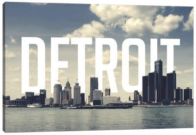 Detroit Canvas Art Print