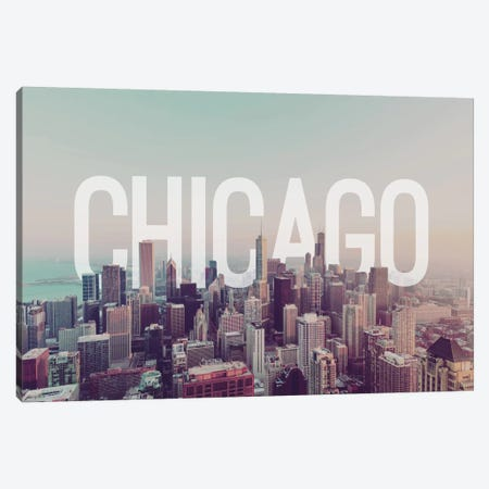 Chicago Canvas Print #CLV2} by 5by5collective Canvas Art