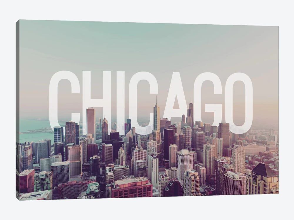 Chicago by 5by5collective 1-piece Art Print