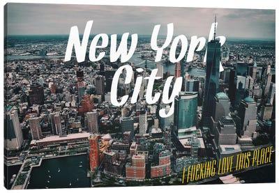 New York Love Canvas Art Print