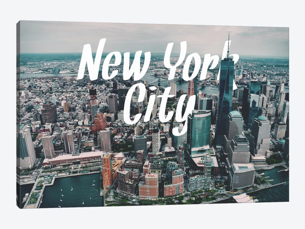 New York by 5by5collective 1-piece Art Print