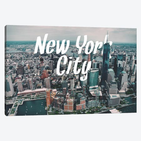 New York Canvas Print #CLV6} by 5by5collective Canvas Print