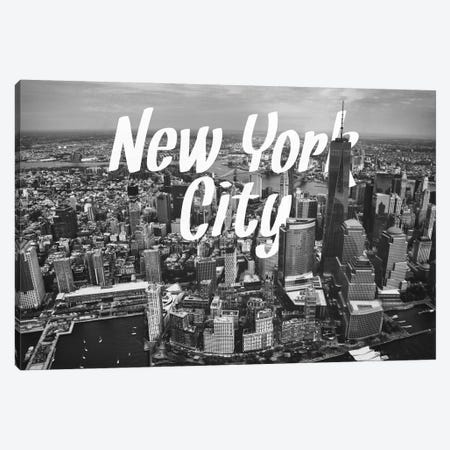 B/W New York Canvas Print #CLV8} by 5by5collective Canvas Art