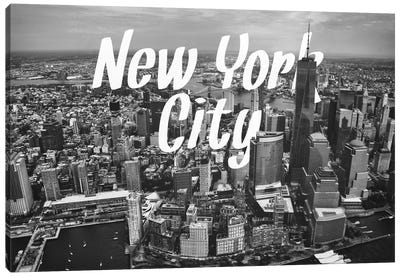 B/W New York Canvas Art Print