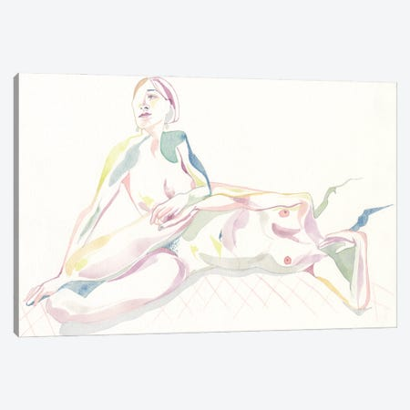 Grasp Canvas Print #CLW24} by Claire Wilson Art Print