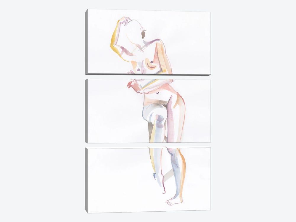 Yuka by Claire Wilson 3-piece Canvas Art
