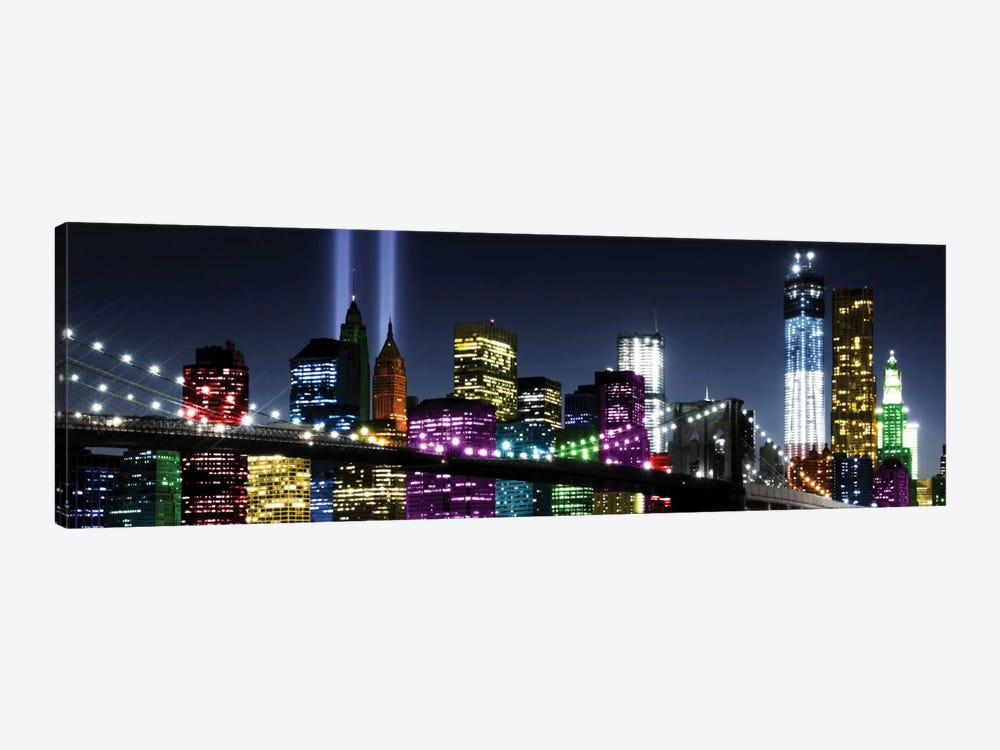 NYC In Living Color II by Carly Ames 1-piece Canvas Artwork