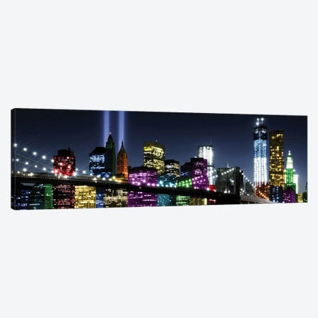 NYC In Living Color II Canvas Print #CLY2} by Carly Ames Canvas Print