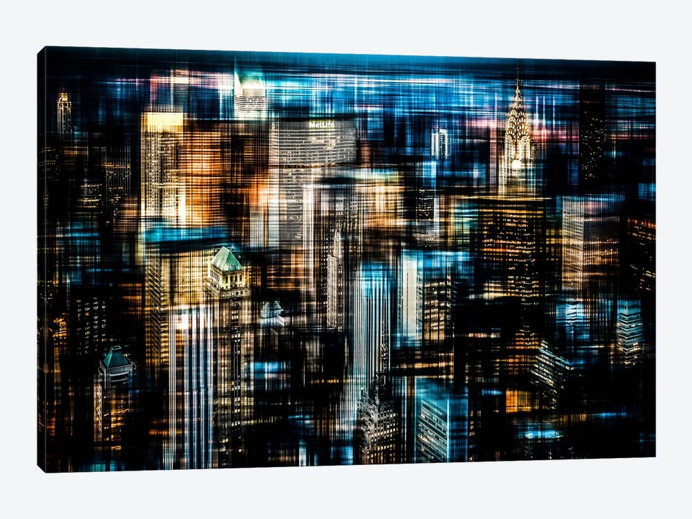 Downtown I by Hannes Cmarits 1-piece Canvas Artwork