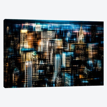 Downtown I Canvas Print #CMA3} by Hannes Cmarits Canvas Print