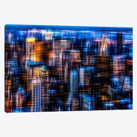 Downtown II Canvas Print #CMA4} by Hannes Cmarits Canvas Wall Art