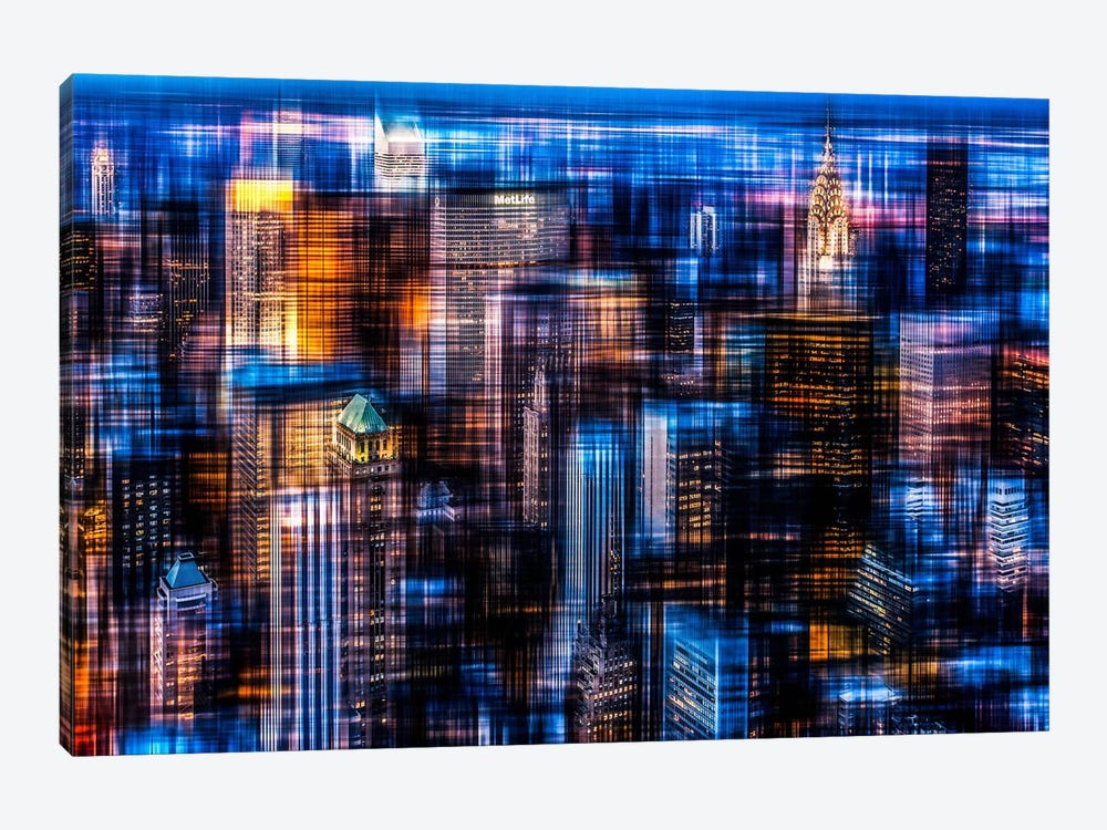 Downtown II by Hannes Cmarits 1-piece Canvas Art Print