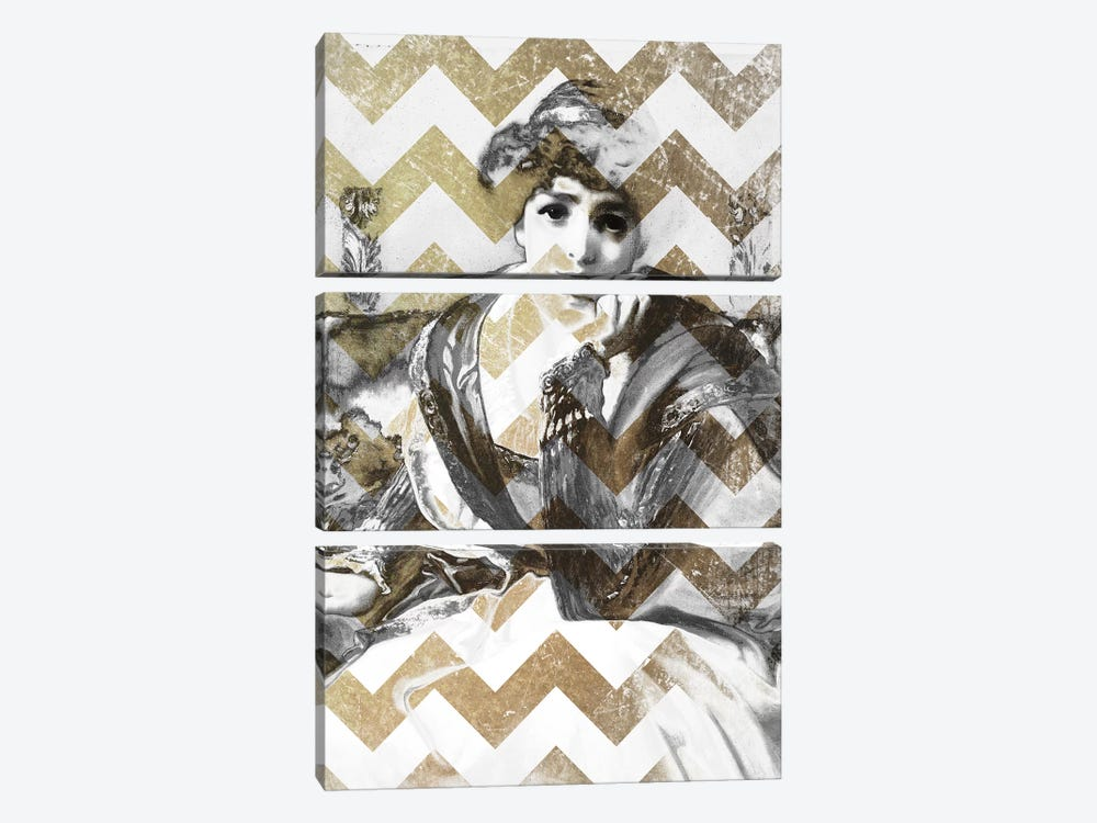 Desdemona VII by 5by5collective 3-piece Canvas Art