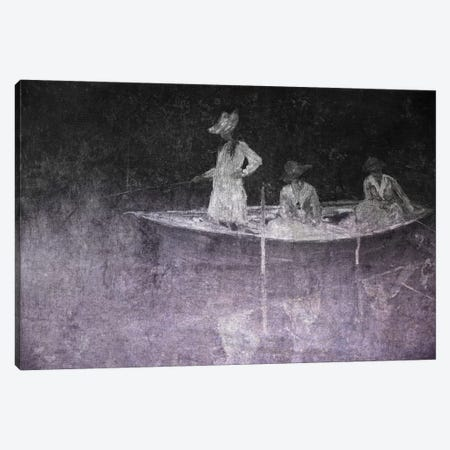 La Barque I Canvas Print #CML107} by 5by5collective Canvas Wall Art