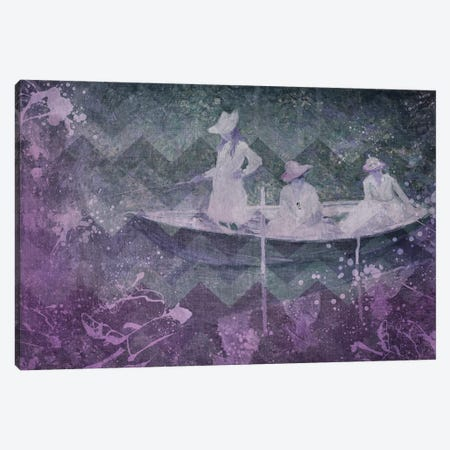 La Barque III Canvas Print #CML109} by 5by5collective Canvas Print