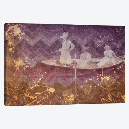La Barque IV Canvas Print #CML110} by 5by5collective Canvas Art