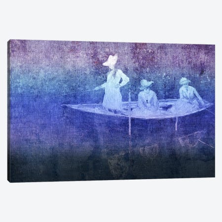 La Barque VI Canvas Print #CML112} by 5by5collective Canvas Wall Art