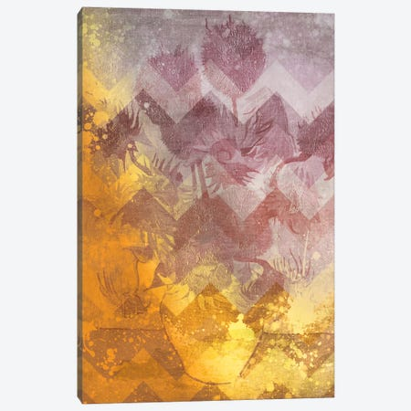 Sunflowers IX Canvas Print #CML117} by 5by5collective Art Print