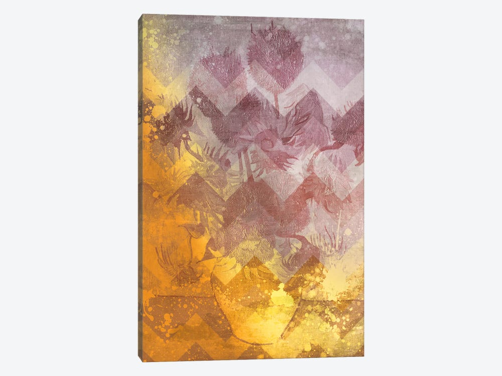 Sunflowers IX by 5by5collective 1-piece Canvas Art