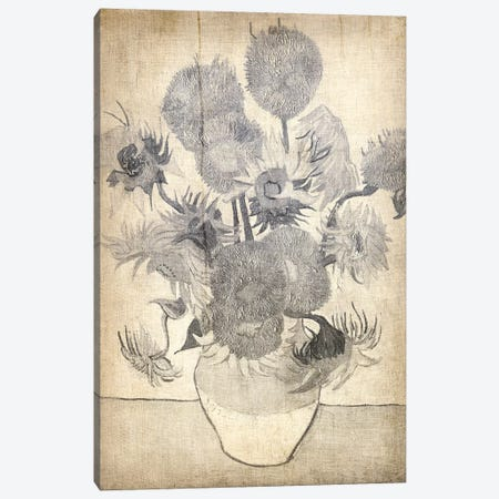 Sunflowers X Canvas Print #CML118} by 5by5collective Canvas Wall Art