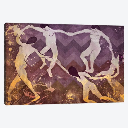 Dance IV Canvas Print #CML11} by 5by5collective Canvas Print