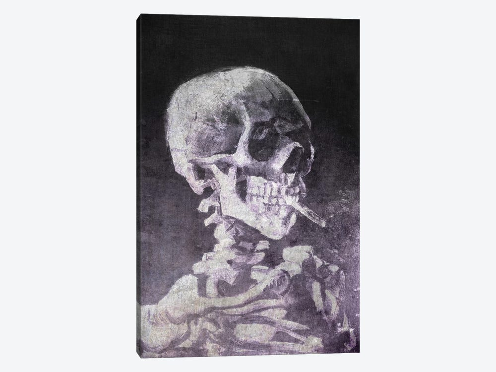 Skull of a Skeleton VI by 5by5collective 1-piece Canvas Print