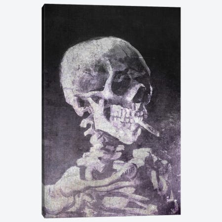 Skull of a Skeleton VI Canvas Print #CML121} by 5by5collective Canvas Art Print