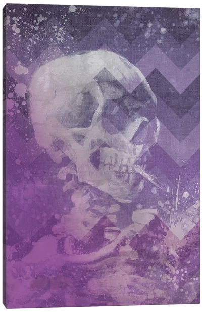 Skull of a Skeleton VIII Canvas Art Print