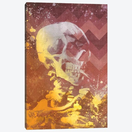 Skull of a Skeleton IX Canvas Print #CML124} by 5by5collective Canvas Artwork