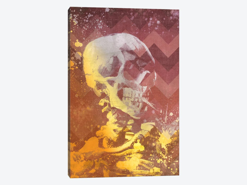 Skull of a Skeleton IX by 5by5collective 1-piece Canvas Artwork