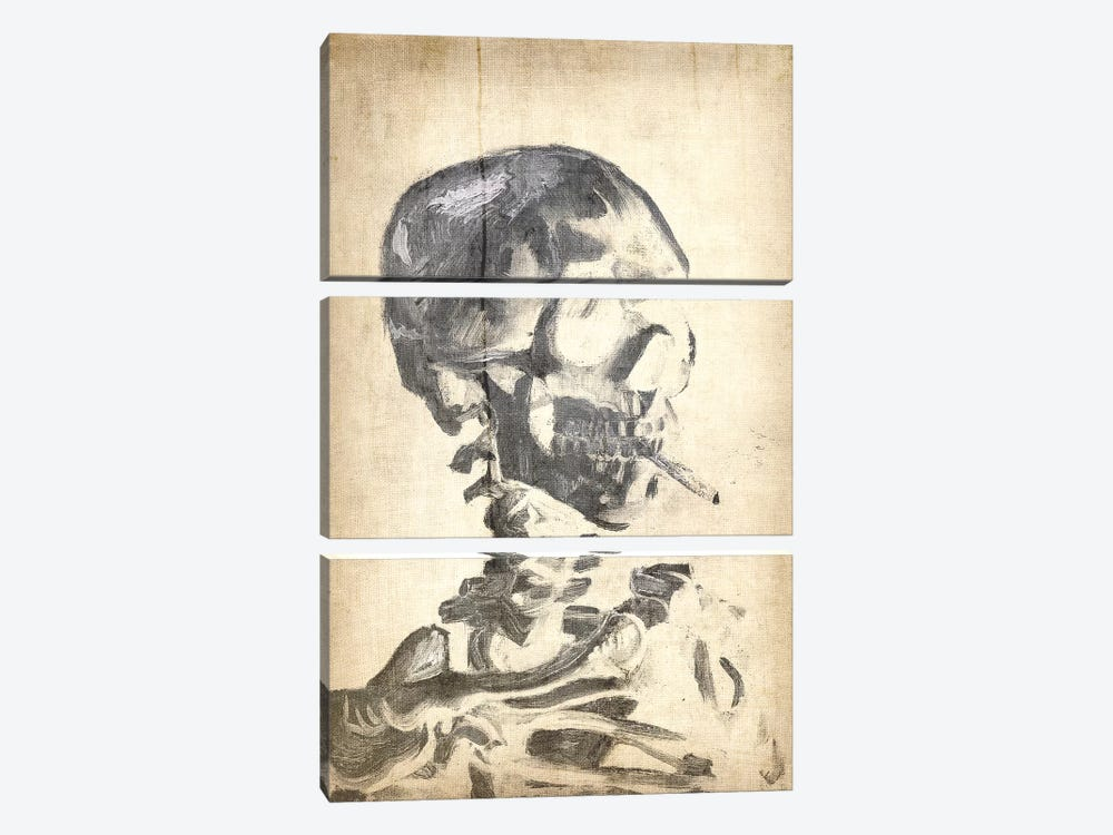 Skull of a Skeleton X by 5by5collective 3-piece Art Print